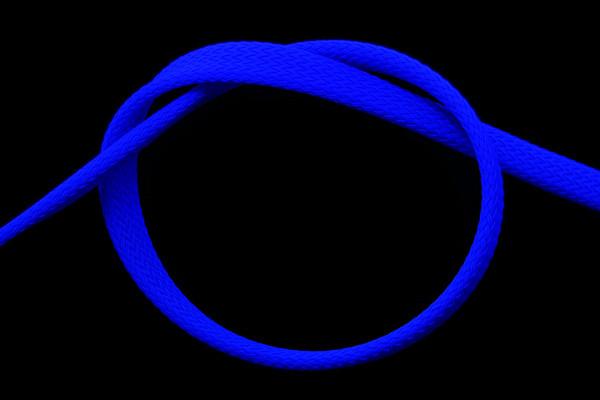 """Phobya Flex Sleeve 10mm (3/8"""") UV-blau 1m"""