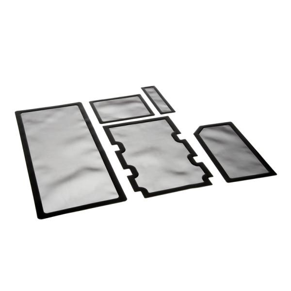 Demciflex Staubfilter-Set für Corsair Obsidian 750D - schwarz/sc