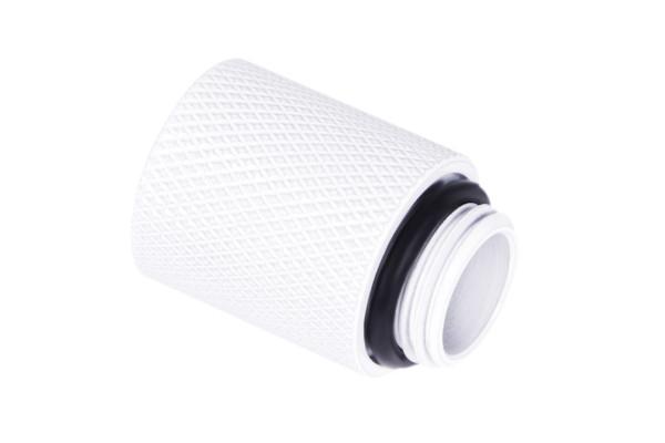 Alphacool Eiszapfen Verlängerung 20mm G1/4 AG auf G1/4 IG - White