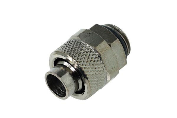 13/10mm (10x1,5mm) Anschraubtülle G1/4 - black nickel