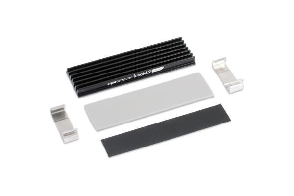 Aquacomputer kryoM.2 micro Passivkühler für M.2 2280 SSD