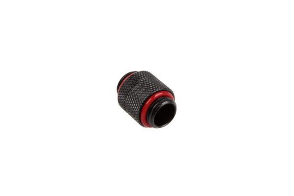 Bitspower Adapter 2x G1/4 Zoll - drehbar - Carbon Black