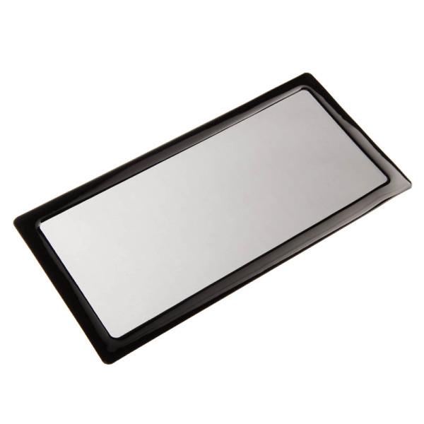 Demciflex Staubfilter für 280mm Radiatoren - schwarz/schwarz
