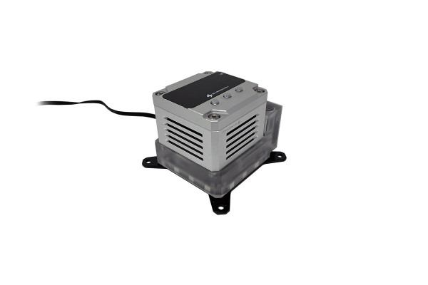 BarrowCH X99/X299 CPU water block integrated pump and reservoir - Silvery