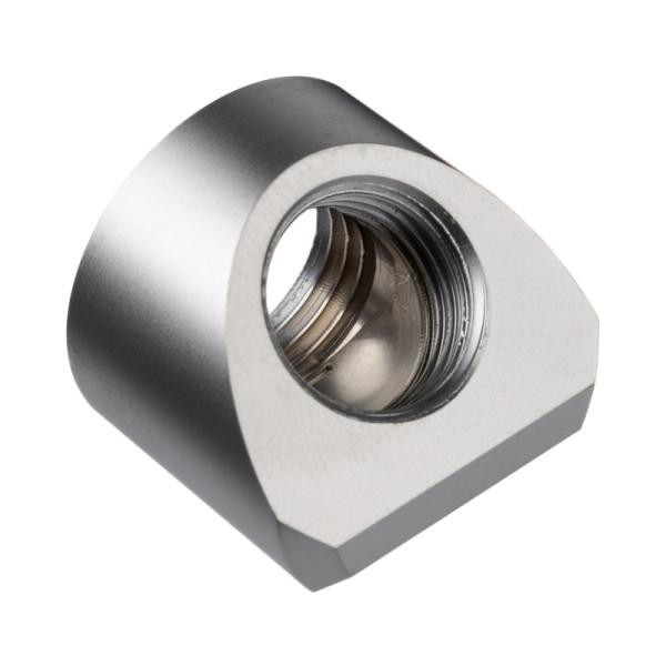 EK Water Blocks EK-Quantum Torque Adapter 45 Grad G1/4 Zoll IG auf G1/4 Zoll IG - Satin Titanium