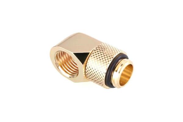 Bykski B-RD90-X 90° G1/4 Winkel drehbar - Gold