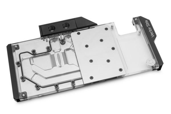 EK Water Blocks EK-Quantum Vector Strix RX 5700 +XT D-RGB - Nickel + Acryl