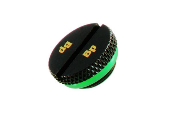 Bitspower Verschlussstopfen G1/4 Zoll flach - Matt Black