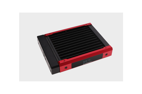 BarrowCH Chameleon Fish series removable 120mm Radiator with display screen POM edition - Blood Red