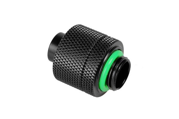 Bitspower Anschluss G1/4 Zoll auf 16/11mm - Matt Black