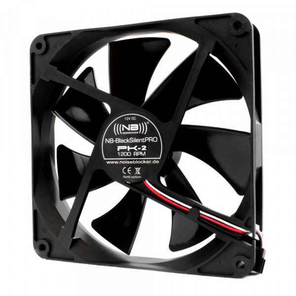 Noiseblocker BlackSilent Pro Fan PK2 - 140mm