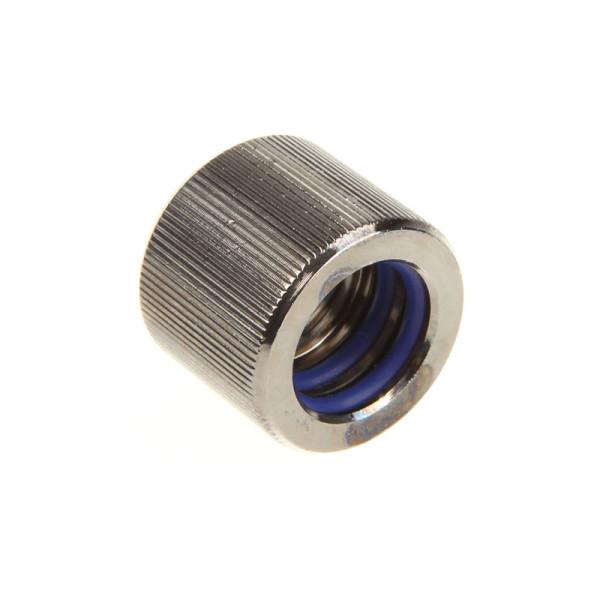 EK Water Blocks EK-HD Adapter G1/4 Zoll IG auf 12/10mm Hardtube - nickel schwarz