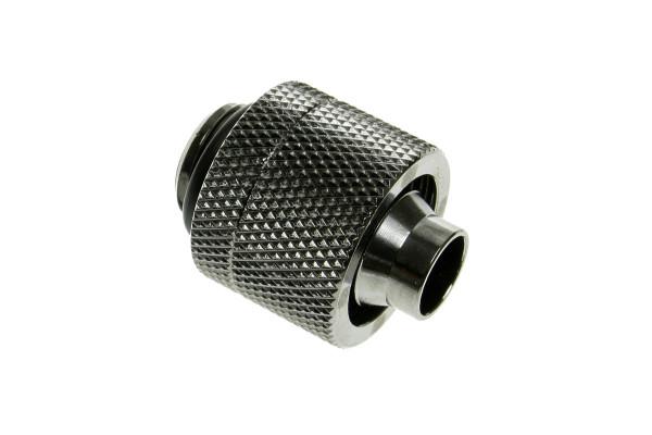 Bitspower Anschluss G1/4 Zoll auf 16/10mm - Shiny Black