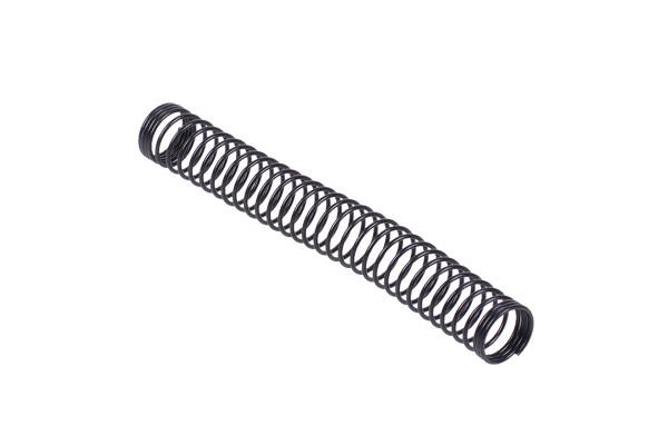 Knickschutzfeder einzeln 11mm (100mm Lang) - black matt
