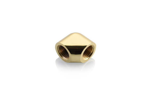 Bykski CC-EW90-V2-GD 90° Winkel Female/Female V2 G1/4 Gold
