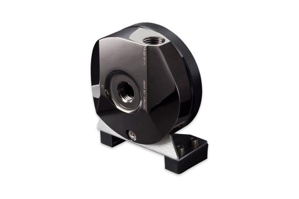 Aquacomputer ULTITOP D5 MIRROR BLACK Pumpenadapter für D5-Pumpen, G1/4