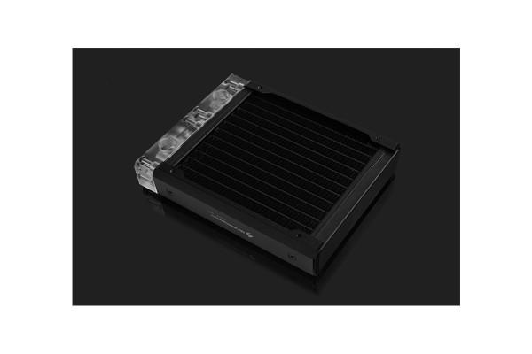 BarrowCH Chameleon Fish series removable 120mm Radiator Acrylic edition - Classic Black