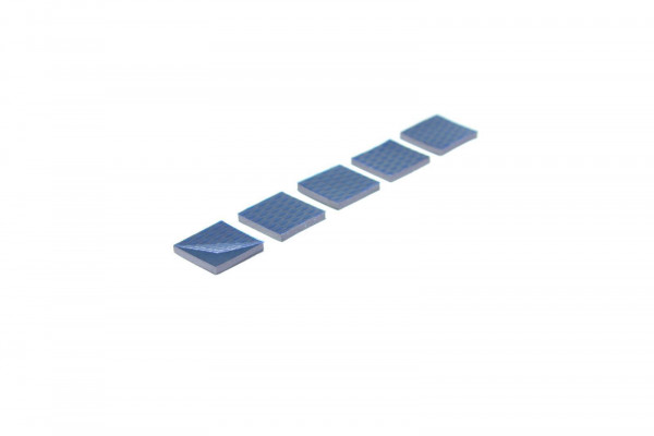 GQYLA 15x15x2mm 7W/mK Wärmeleitpad Set (5x Stück) Thermal Pad Industriequalität