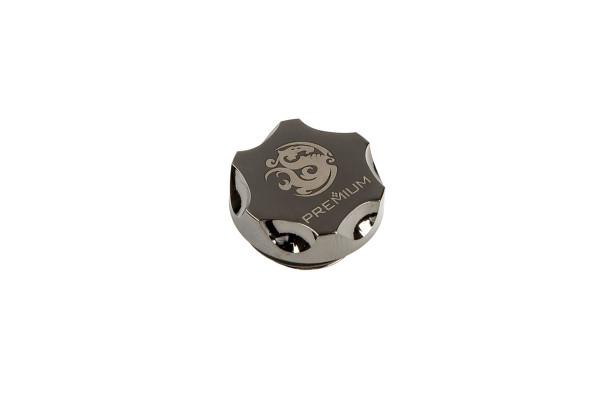 Bitspower Premium Verschlussstopfen G1/4 Zoll - Shiny Black