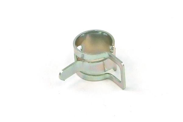 Schlauchschelle Federband 10 - 12mm silber