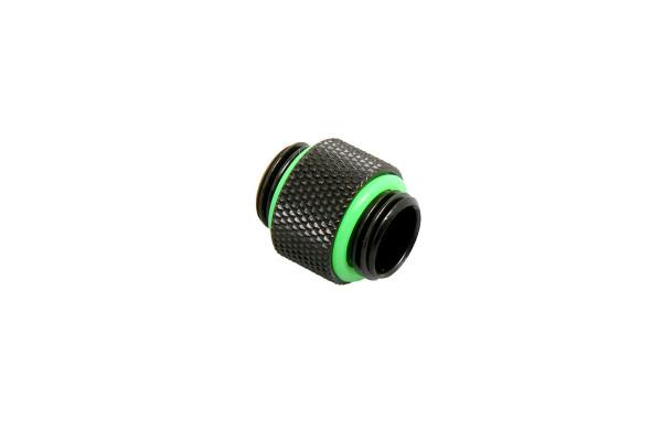 Bitspower Adapter 2x G1/4 Zoll - lang - Matt Black