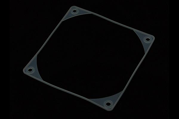 Vibrationsdämpfer 120mm Lüfter Klar