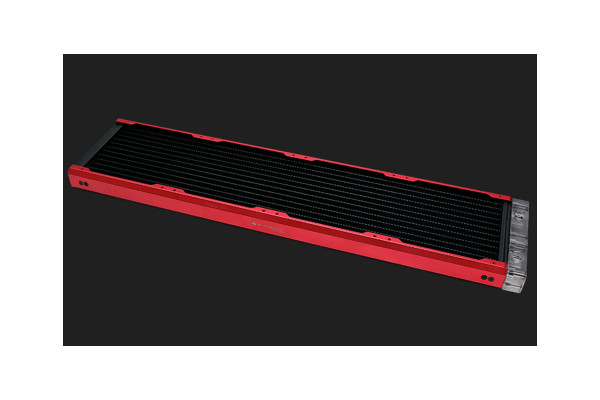 BarrowCH Chameleon Fish series removable 480mm Radiator Acrylic edition - Blood Red