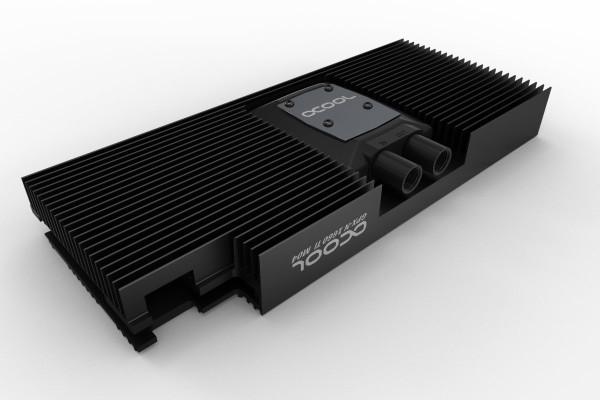 Alphacool NexXxoS GPX - Nvidia Geforce GTX 1660 Ti M04 - mit Backplate - Schwarz
