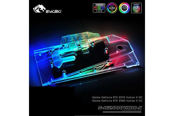 Bykski GPU Nvidia N-IG2080VXOC-X Full Cover Grafikkartenkühler
