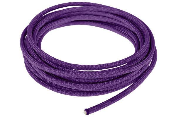 Alphacool AlphaCord Sleeve 4mm - 3,3m (10ft) - Acid Purple (Paracord 550 Typ 3)