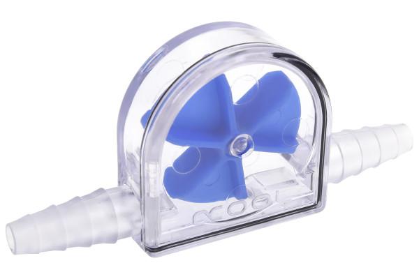 Alphacool Eisfluegel Durchflussanzeiger Blau 6-11mm - Acryl