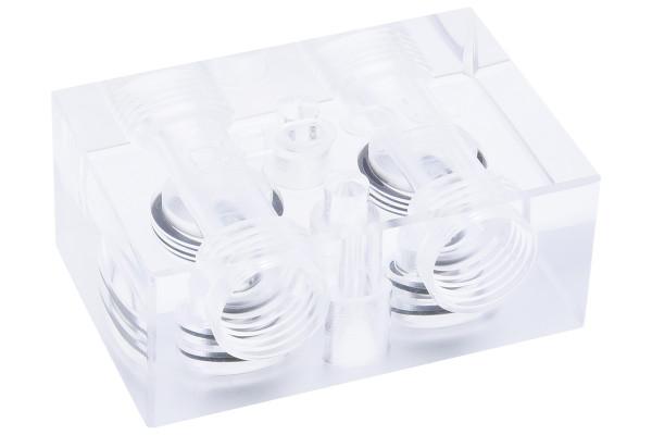 Alphacool GPX SLI Connector - Single - Acryl