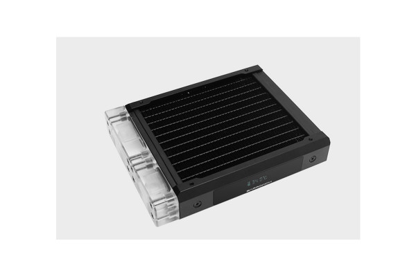 BarrowCH Chameleon Fish series removable 120mm Radiator with display screen PMMA edition - Classic B