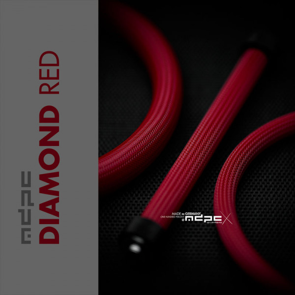 MDPC-X Sleeve BIG - Diamond-Red, 1m