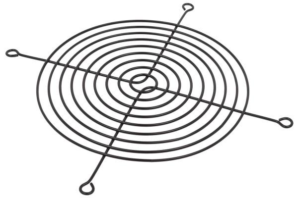 Lüftergitter für Axiallüfter für 140mm schwarz