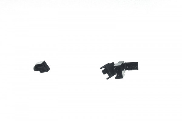Cable Junkies Y-Kabel 4Pin PWM auf 3x 4Pin PWM 60cm mit schwarzem Sleeve