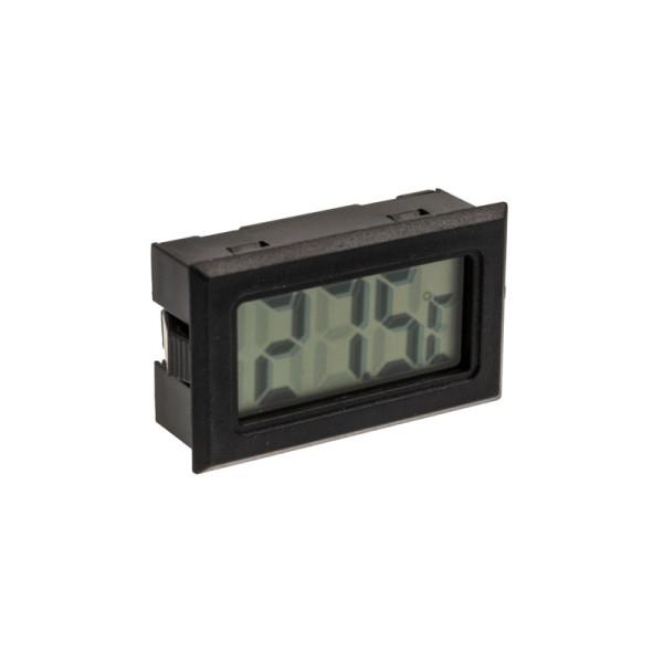 Lamptron Digital Thermometer, G1/4 Zoll Anschluss - schwarz/silber