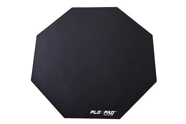 Florpad Black Line Gamer-/eSport-Bodenschutzmatte - medium, schwarz