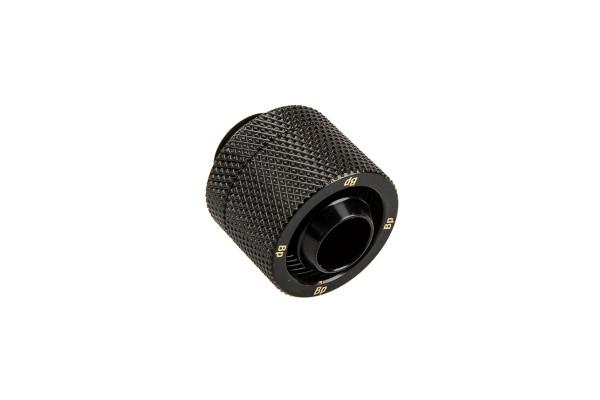 Bitspower Anschluss G1/4 Zoll auf 16/10mm - Matt Black