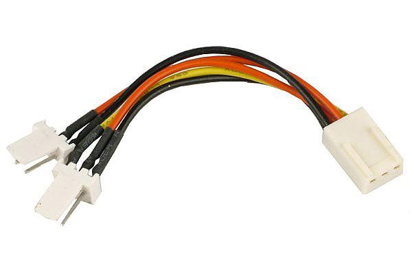 Y-Kabel 3Pin Molex auf 2x 3Pin Molex