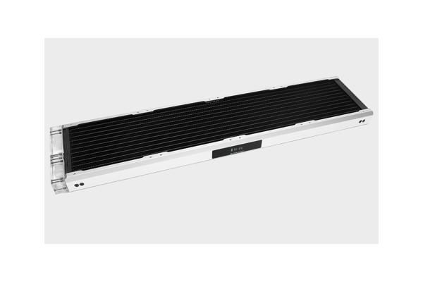 BarrowCH Chameleon Fish series removable 480mm Radiator with display screen PMMA edition - Matt Silv