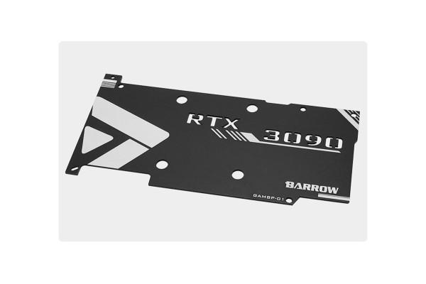 Barrow Backplate for GALAX/GAINWARD 3090 full coverage GPU Water Block - Black