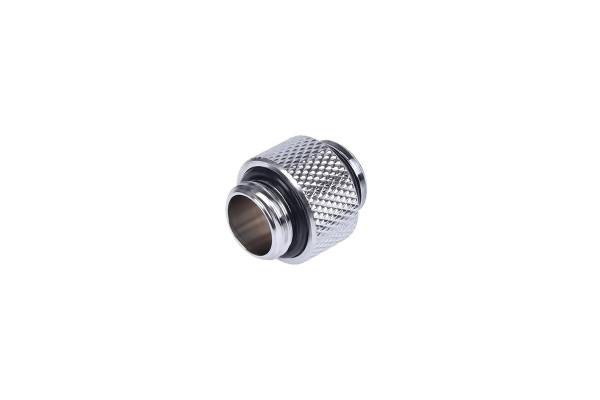 Alphacool HF Doppelnippel G1/4 AG auf G1/4 AG 10mm - Chrome