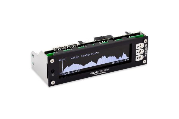 Aquacomputer aquaero 6 PRO black USB Fan-Controller, Grafik-LCD