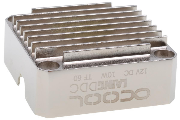 Alphacool Laing DDC metal bottom - silver nickel