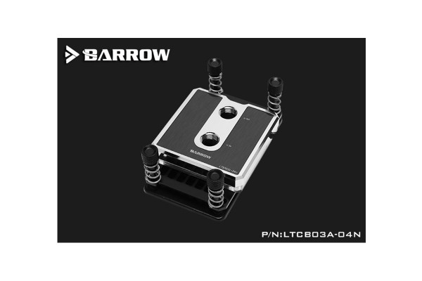 Barrow CPU water block for AMD POM edition - Silvery